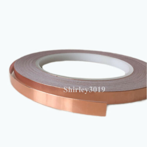 Shielding Single sided Conductive Adhesive Copper Foil Tape 30mmx30Mx0.08mm