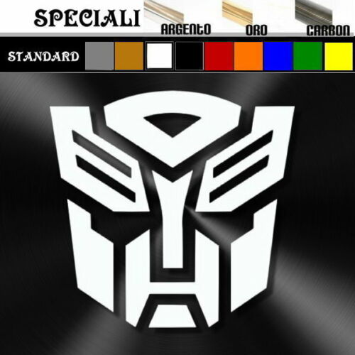 adesivo sticker TRANSFORMERs prespaziato decal tuning auto 20 x 19 cm