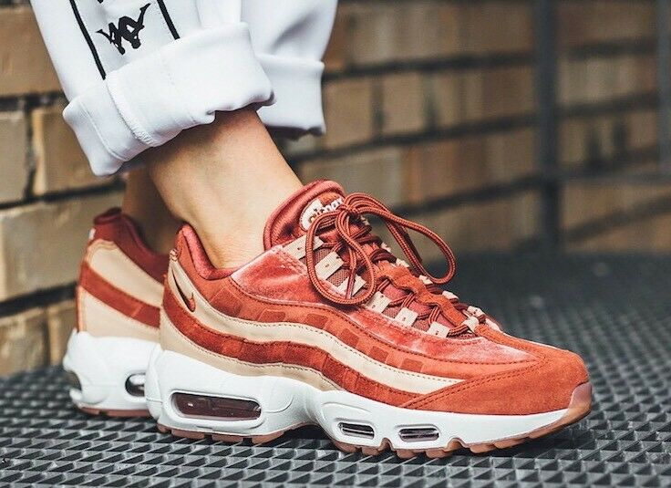 Nike Air Max 95 LX AA1103-201 Dusty Peach Größe Größe Größe UK 5 EU 38.5 US 7.5 New 2c5c6b