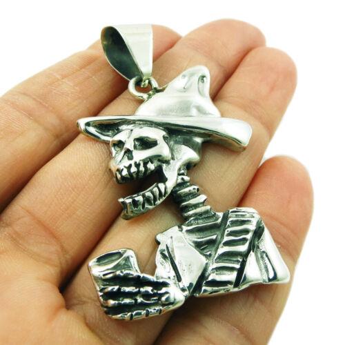Mariachi esqueleto ley 925 Colgante de plata esterlina en una caja de regalo