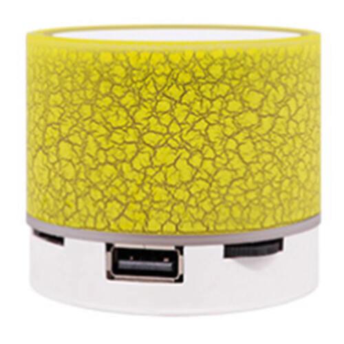 LED Bluetooth Speaker Music Smart Touch Night Light Desk Lamp USB Rechargeable