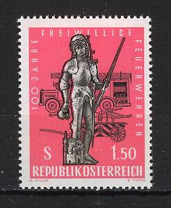 AUSTRIA-1963-MNH-SC-706-Volunteer-fire-brigades