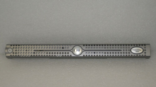 New OEM Dell PowerEdge 1850 Face Plate Bezel Cover Silver w// Key X2124 0X2124