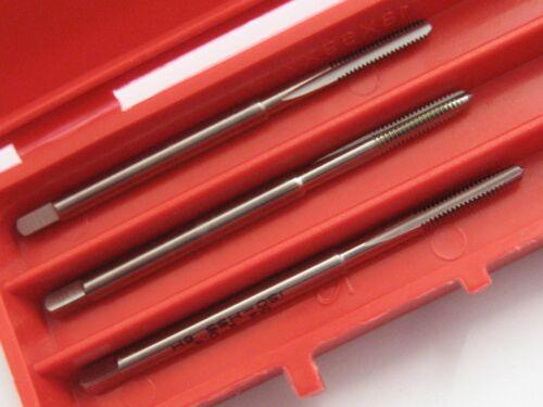 M2 x 0.4 SET OF 3 HSS HAND TAPS LEAD SECOND /& PLUG EUROPA OSBORN G0110079 P210