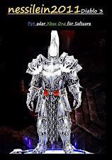 Diablo 3 RoS Ps4/Xbox One - Kreuzritter - Rolands Vermächtnis - URALT - Unmodded