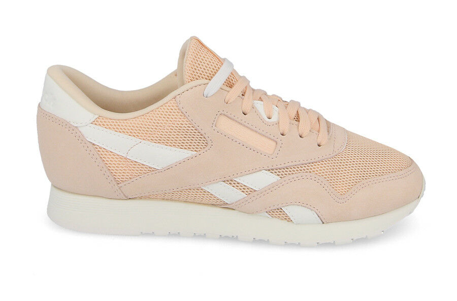DAMEN SCHUHE SNEAKERS REEBOK CLASSIC LEATHER NYLON