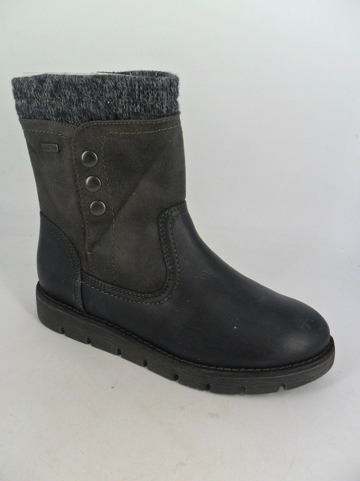 Jana Tex Soft Flex UK Fur Lined Navy Stiefel UK Flex 6.5 EU 40 LN088 AN 07 01b102