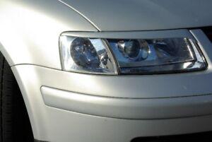 Headlight Eyebrows for VW Passat B6 lightbrows eye lids brows light covers mask