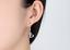 Orecchini-Donna-Pendenti-Colorati-Stras-Luce-Cuore-Doppio-Paio-Coppia-Idea-Regal miniatura 3