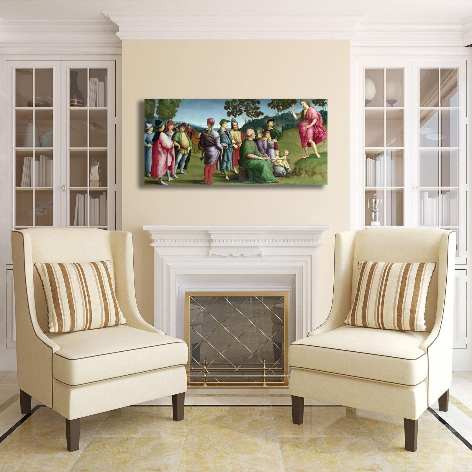 Raffaello san Giovanni Battista quadro stampa tela dipinto telaio casa arRouge o casa telaio 658ff4