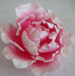 sugar flower wedding cake toppers large pink peony sugar flower wedding birthday cake 20579