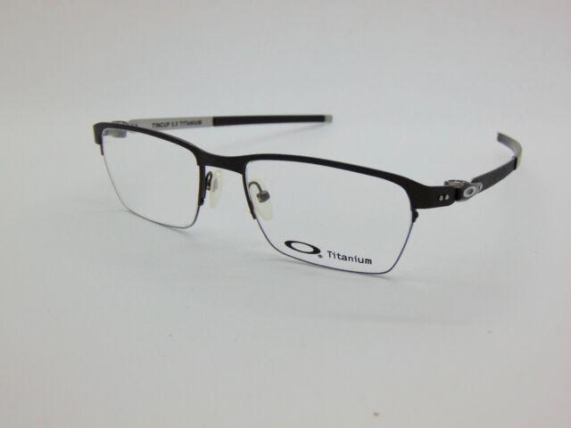 6e3dc46124be3 NEW OAKLEY TINCUP 0.5 Titanium OX5099-0353 Powder Pewter 53mm Rx Eyeglasses
