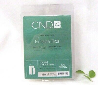 CND Creative Nail Design Tips ECLIPSE NATURAL 100ct/tray