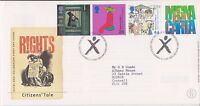 GB ROYAL MAIL FDC FIRST DAY COVER 1999 CITIZENS' TALE STAMP SET POWYS PMK