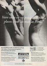 Publicité   //  Pirelli Bedding  leader mondial du couchage