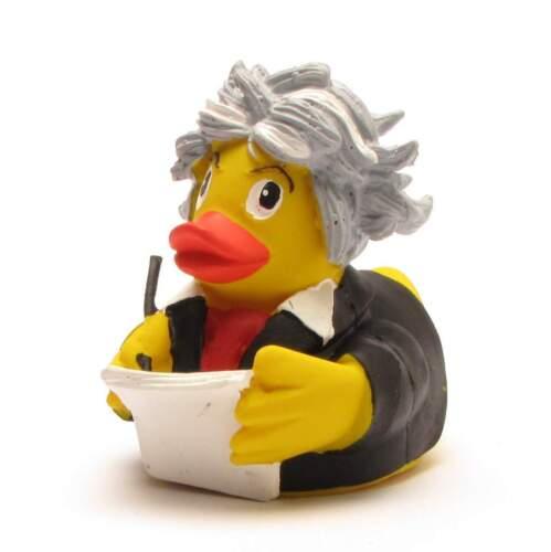 Beethoven Ente Badeente-Gummiente-Quietscheente-Quietscheentchen-Plastikente