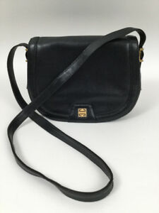 a46d5b0306 Image is loading Vintage-GIVENCHY-Medium-Black-Shoulder-Bag