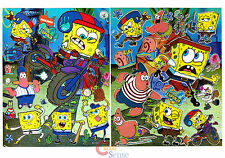 Sponge Bob  Stickers Set 2 sheets Wall Window Pre cut  Vinyl Stickers