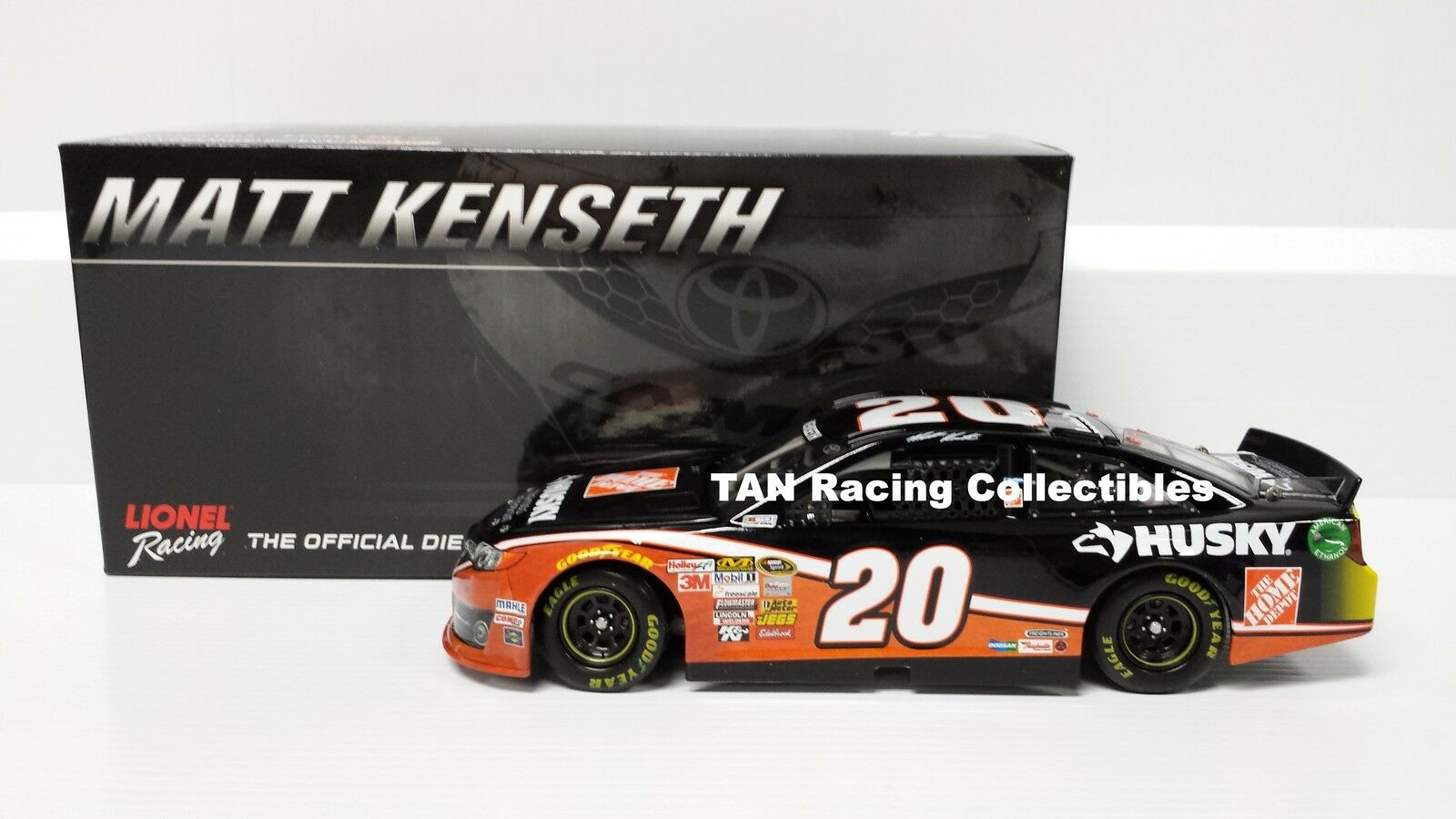 Matt Kenseth 2014 Lionel Action Home Depot Husky Diecast 1 24 FREE SHIP