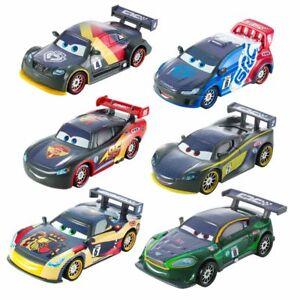 Modelle-Auswahl-Carbon-Racers-Disney-Cars-Cast-1-55-Fahrzeuge-Mattel