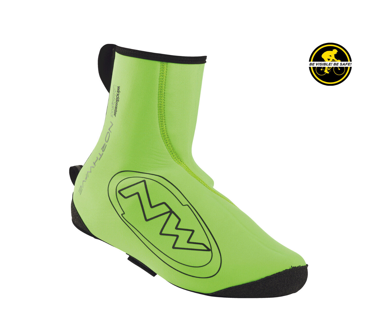 Coprishoes Northwave NEOPRENE Col.Gren Fluo SHOECOVER NORTHWAVE NEOPRENE GREEN
