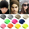 Unisex Winter Women Men Knit Ski Crochet Slouch Hat Cap Beanie Hip-Hop Warm Hat