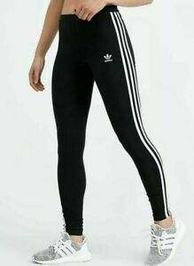 Détails sur Adidas Originals Women's 3 Stripes Leggings CE2441 Noir afficher le titre d'origine