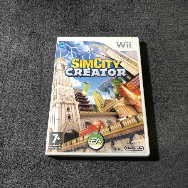 Nintendo Wii Sim City Creator FRA Bon état