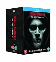 Sons Of Anarchy: Complete Seasons 1-7 [blu-ray] Free Shipping