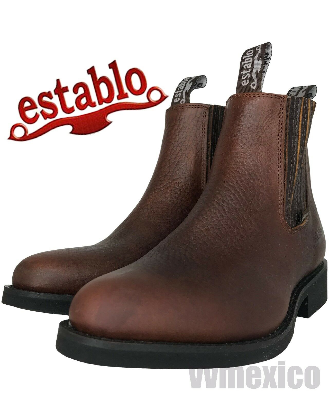 Mens LOW TOP ANKLE ESTABLO ROPER BOOT for work,construction,gardening ALL SIZES