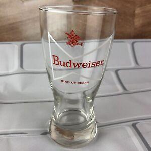 VINTAGE BUDWEISER KING OF BEERS BOWTIE BEER Glass