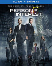 DVD: Person of Interest: Season 4 (Blu-ray + Digital Copy), . Very Good Cond.: K