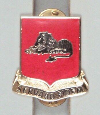 cb Army DI Pin 123rd Field Artillery Battalion G23