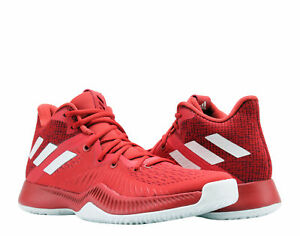 061babbd424e6 Adidas Mad Bounce Red/FTW White/Burgundy Men's Basketball Shoes ...