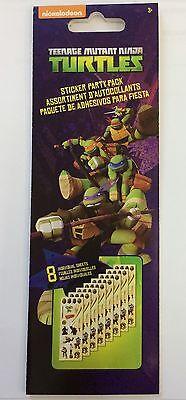 25 Teenage Mutant Ninja Turtles Stickers Party Favors Teacher TMNT