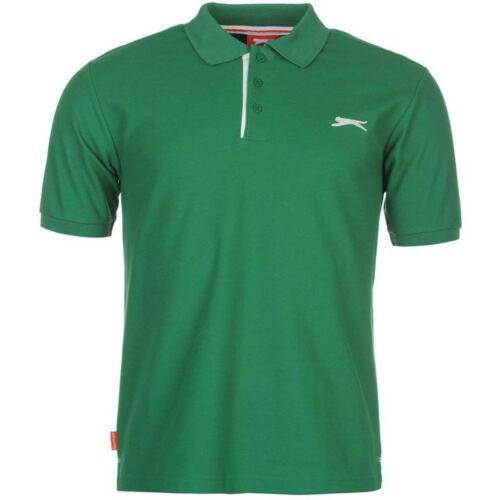 New Slazenger Mens Polo t Shirt top   XL 2XL 3XL  short sleeve sport casual