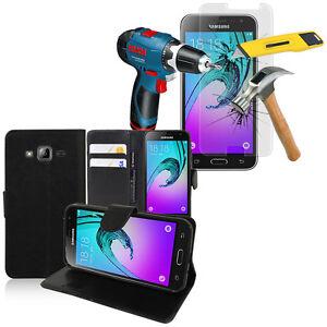 Protector-Telefono-movil-para-Samsung-Galaxy-J3-2016-J320F-CARTERA-VERRE-DE