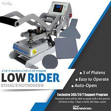 Stahls New Hotronix 6 X 6 Low Rider Auto Clam Heat Press Free Fedex Shipping