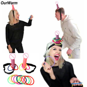 Bride-to-Be-Bachelorette-Hen-Stag-Party-Dick-Willy-Heads-Hoopla-Ring-Toss-Games