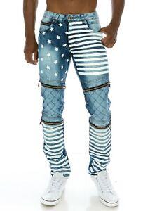 KOSMO-LUPO-Herren-Jeans-Hose-Denim-Stretch-Zipper-NEU-KM156