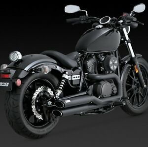 yamaha xv 950 r spec bolt twin slash black full exhaust. Black Bedroom Furniture Sets. Home Design Ideas
