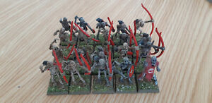 Warhammer-AoS-Vampire-Counts-OOP-plastic-Painted-skeleton-archers-regiment