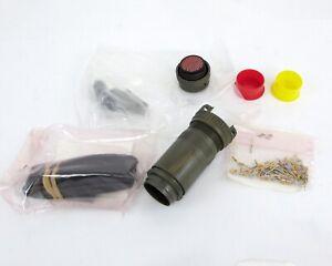 Amphenol-M81511-06EF01S1-Conector-con-85-Oro-Crimpado-Enchufes-NSN