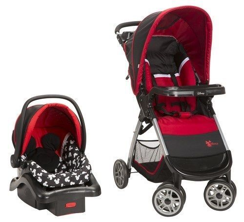 Strollers And Car Seat Combo Baby Infant Travel System Disney Mickey Silhouette
