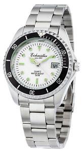 Eichmueller-Taucheruhr-Armbanduhr-Taucher-Uhr-Look-Herren-Datum-Leuchtzeiger-40mm