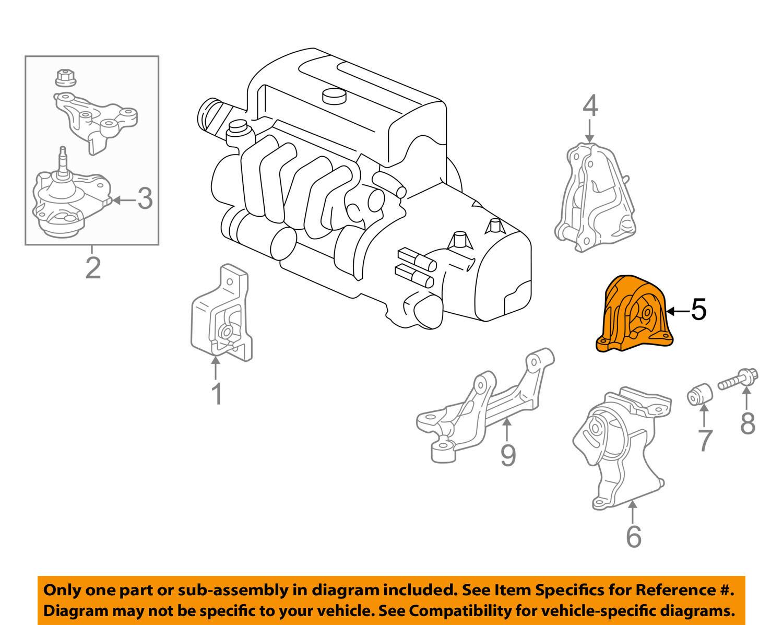 Acura HONDA OEM 02-06 RSX-Engine Motor Mount Torque Strut 50810S7C981 | eBayeBay