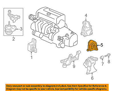 [DVZP_7254]   Acura HONDA OEM 02-06 RSX-Engine Motor Mount Torque Strut 50810S7C981 | eBay | Rsx Engine Diagram |  | eBay