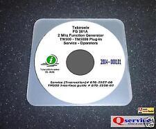Tektronix Tek Fg501a Fg 501a Fg 501a Serv Oprs Manual