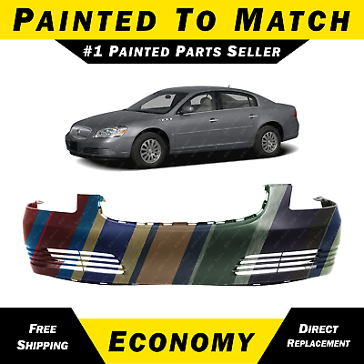 Front Bumper Cover Compatible with 2006-2011 Cadillac DTS Primed with Obj Sensor Holes