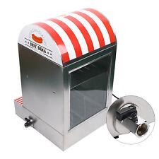 1500w Commercial Display Electric Hot Dog Steamer Machine Amp Bun Warmer 110v Us